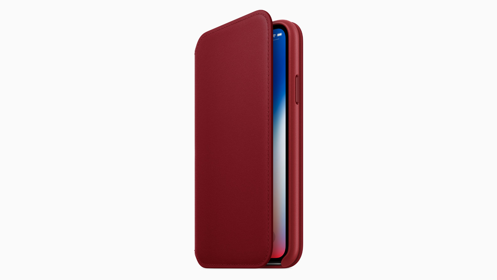 Iphonex leather folio case