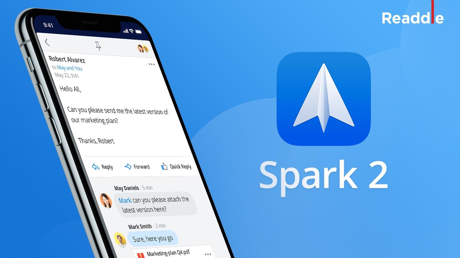 Spark 2 Release V2