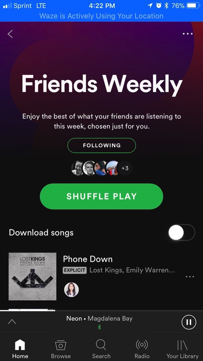 Spotify Testing New Friends Favorites Feature Playlist