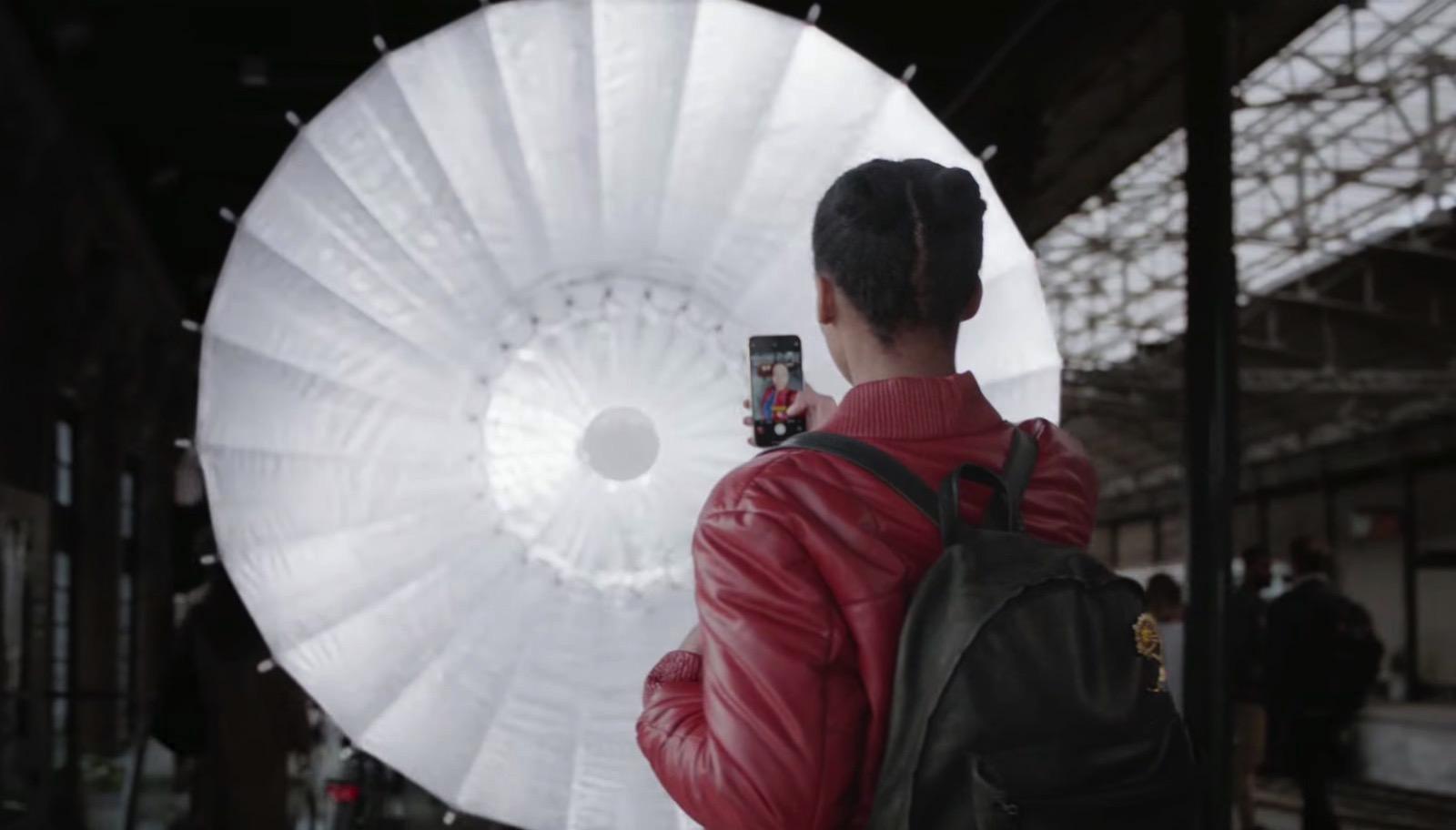 Studio in your pocket iphonex portrait lightning