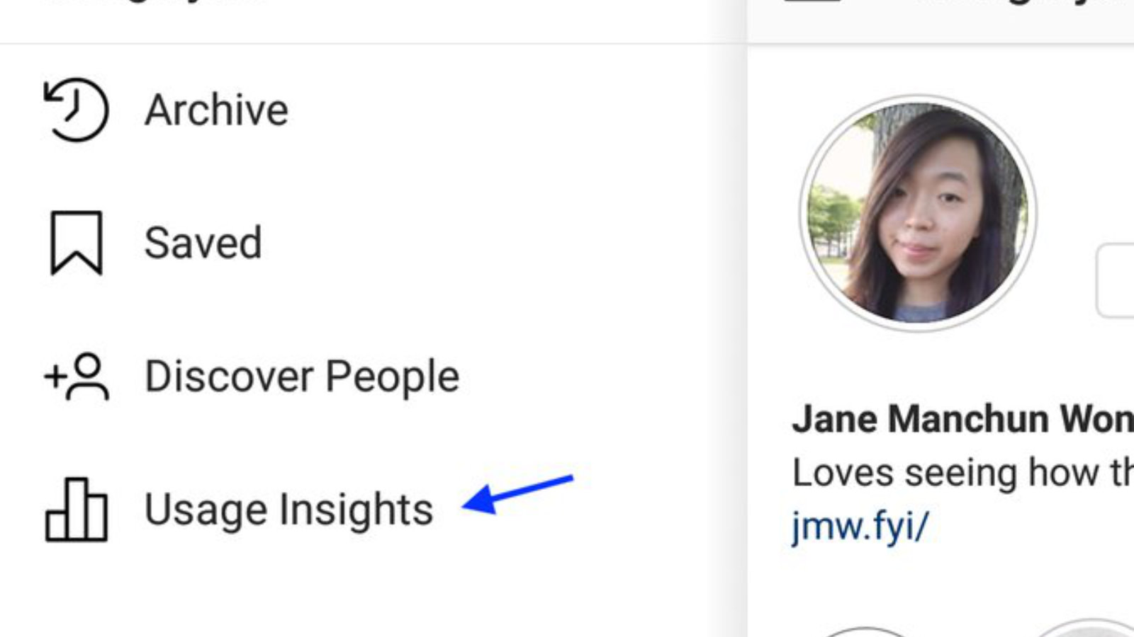 Usage Insights for Instagram 2