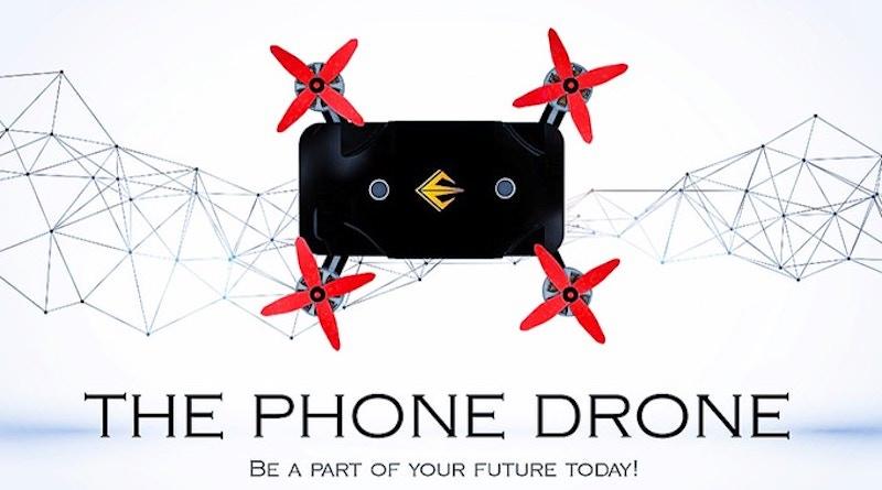 The phone drone kickstarter