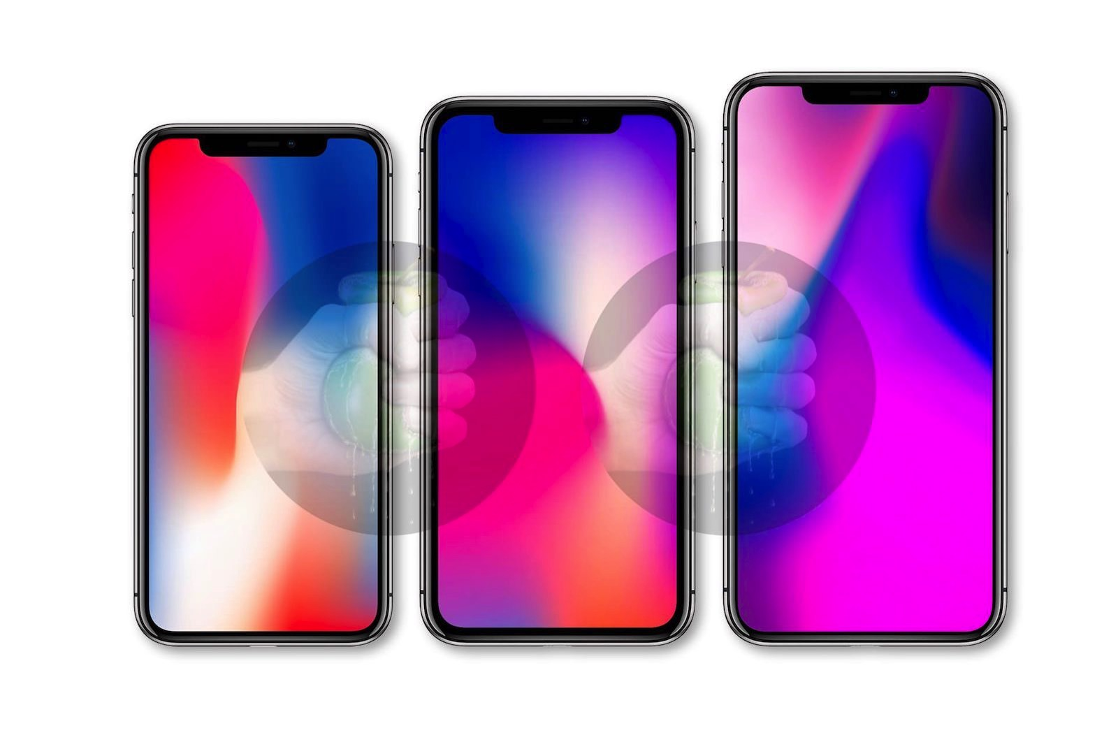 2018 iphone renderings