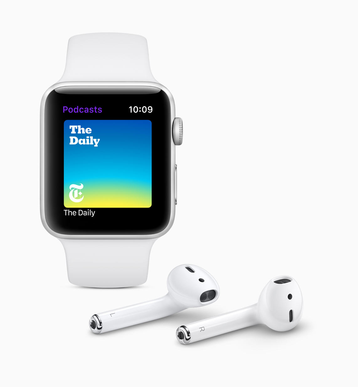 Apple watchOS 5 Podcasts screen 06042018