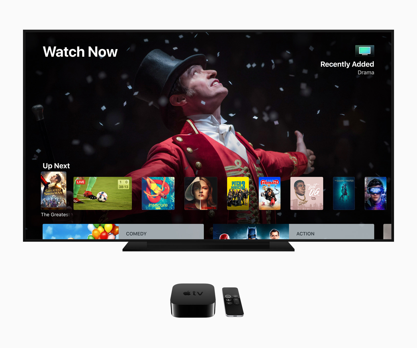 Apple TV 4k screen 06042018