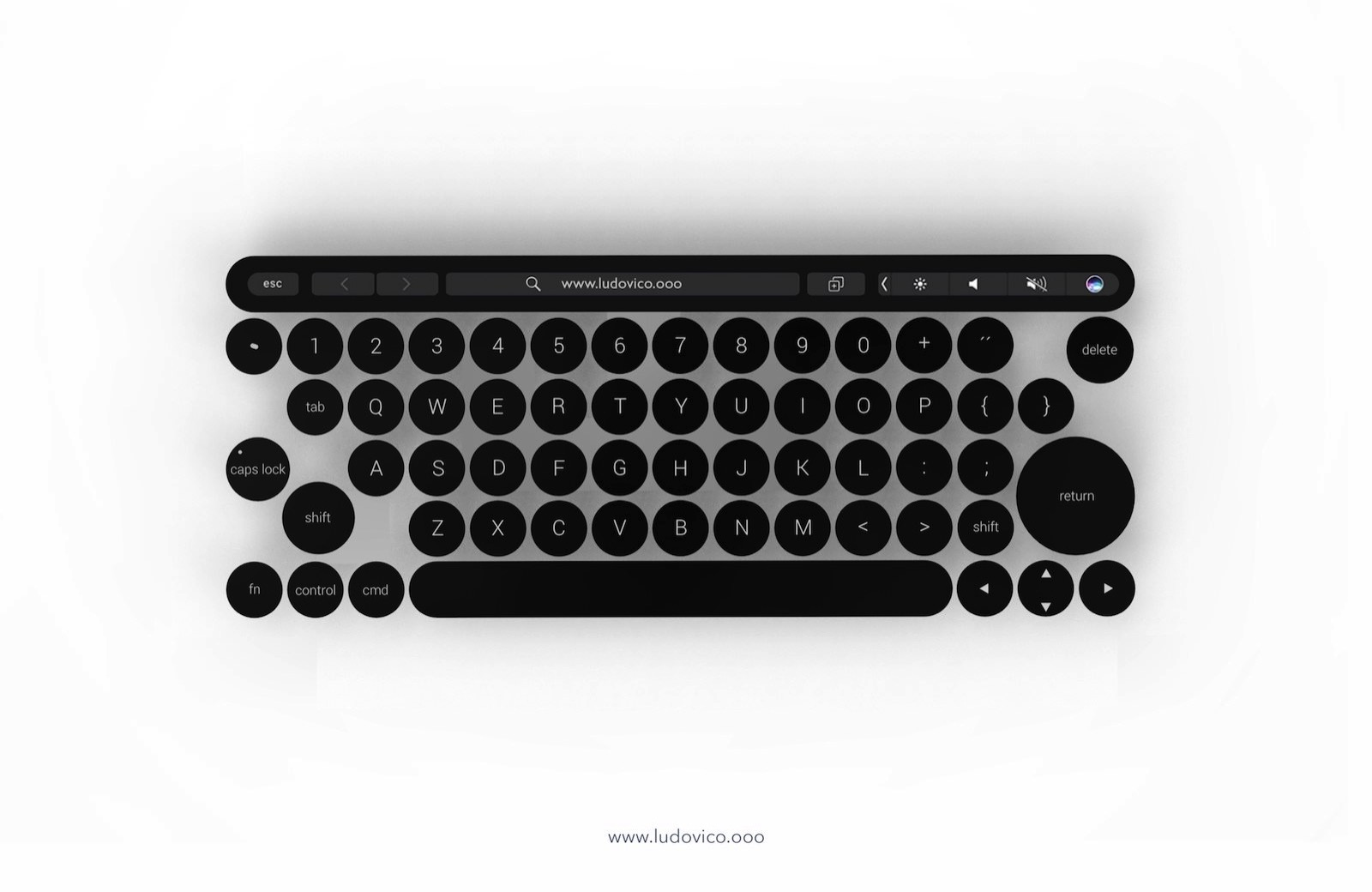 MacBook X Concept Image Keyboard