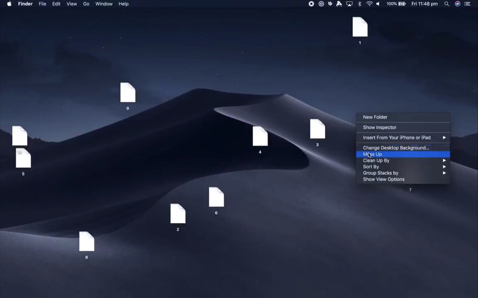 Mess Up Screen on Mojave