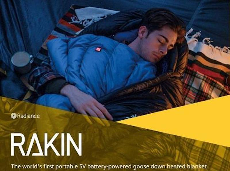 Rakin Battery Powered Blanket