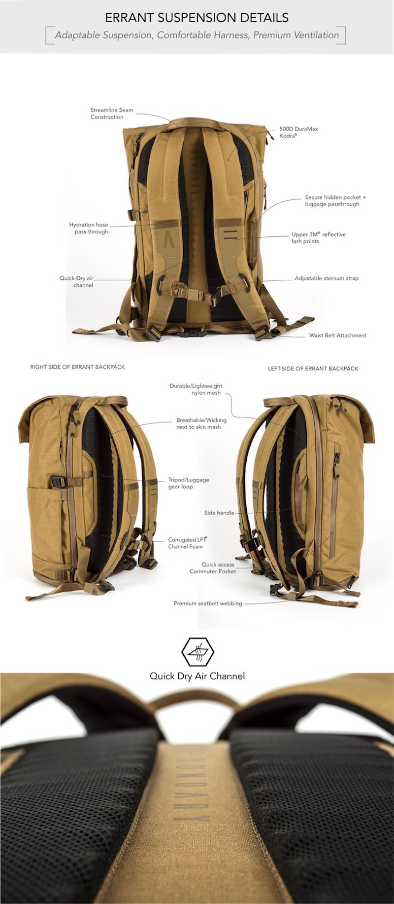 Errant Ultimate Everyday Backpack 4