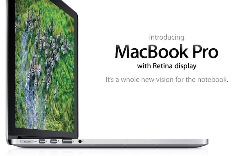 MacBook Pro 2012 with Retina