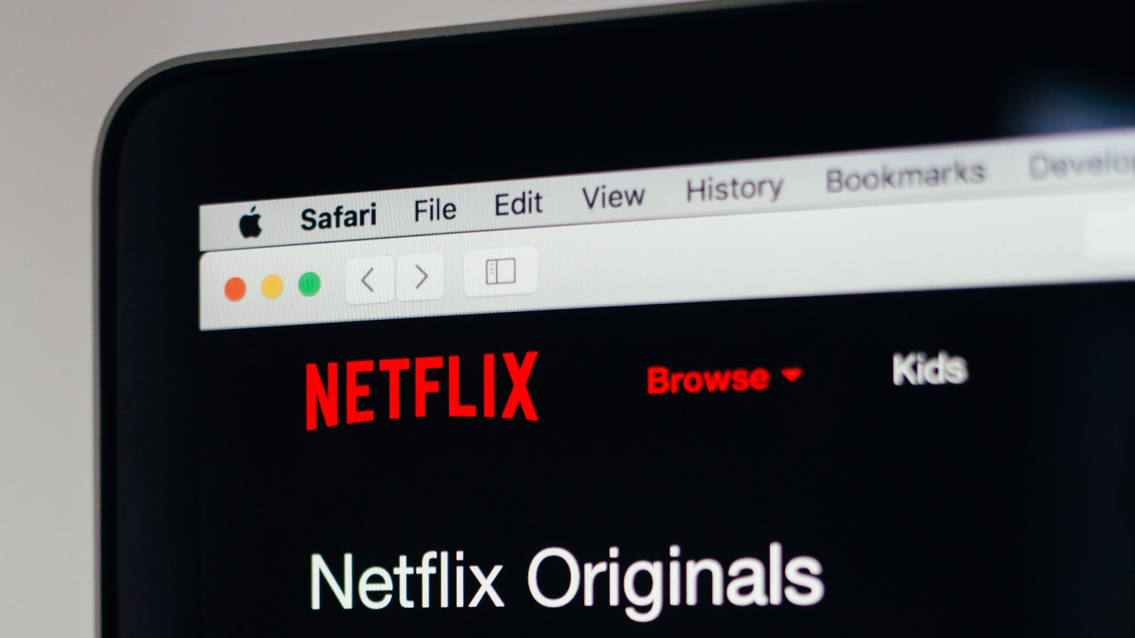 Netflix Originals Unsplash