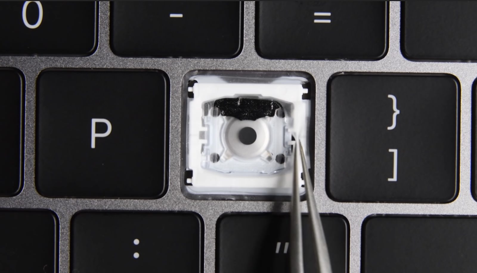 Protection around keys of MacBookPro2018