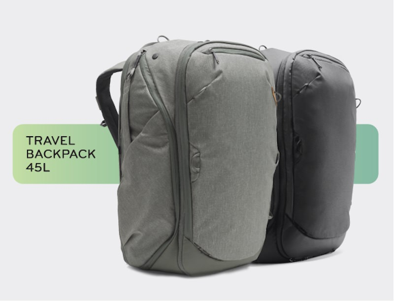 Travel Backpack from Peak Design top