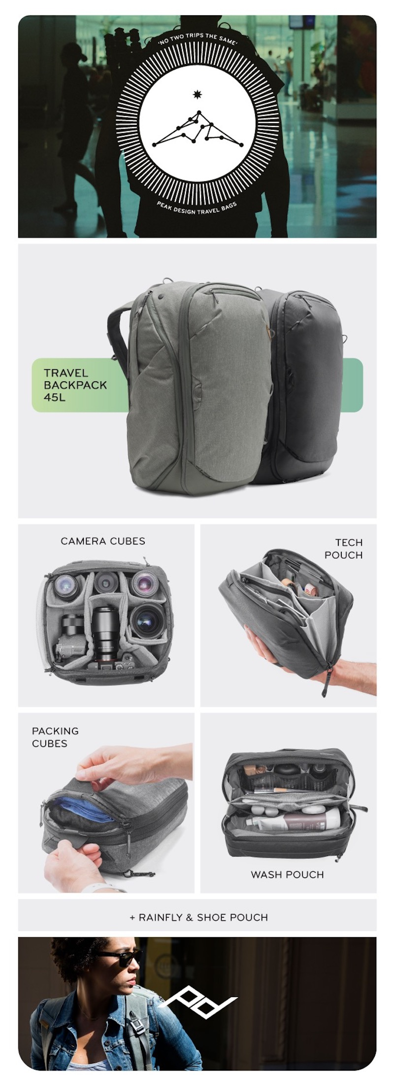 Travel Backpack from Peak Design