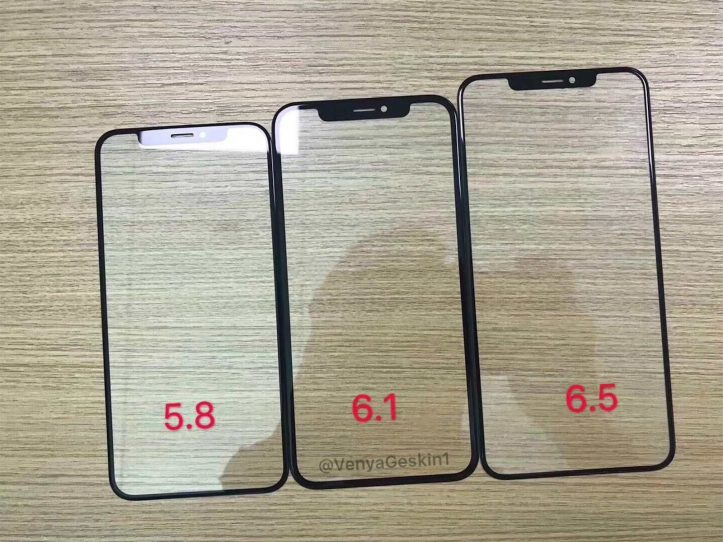 Front panels for 2018 iphone