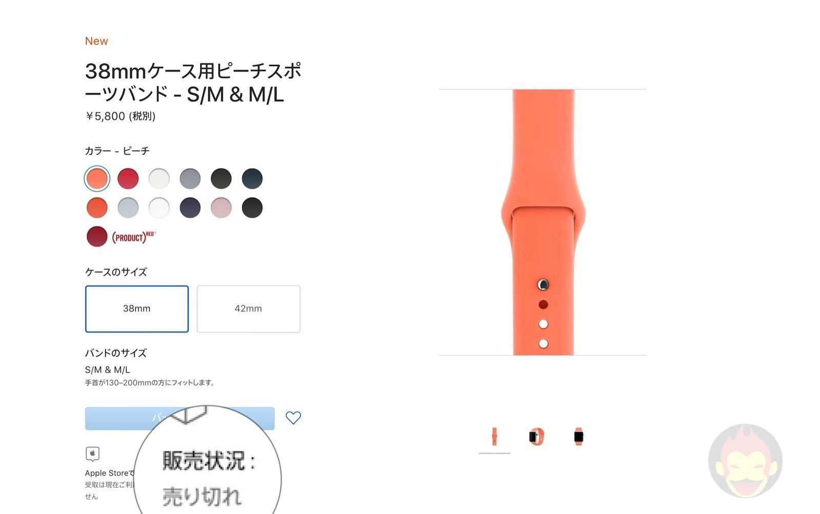 Apple Watch Bands out of sale 01