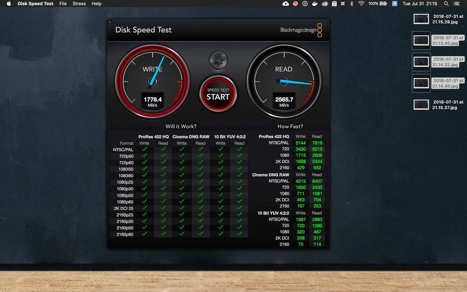 Disk Speed Test Youtachannel