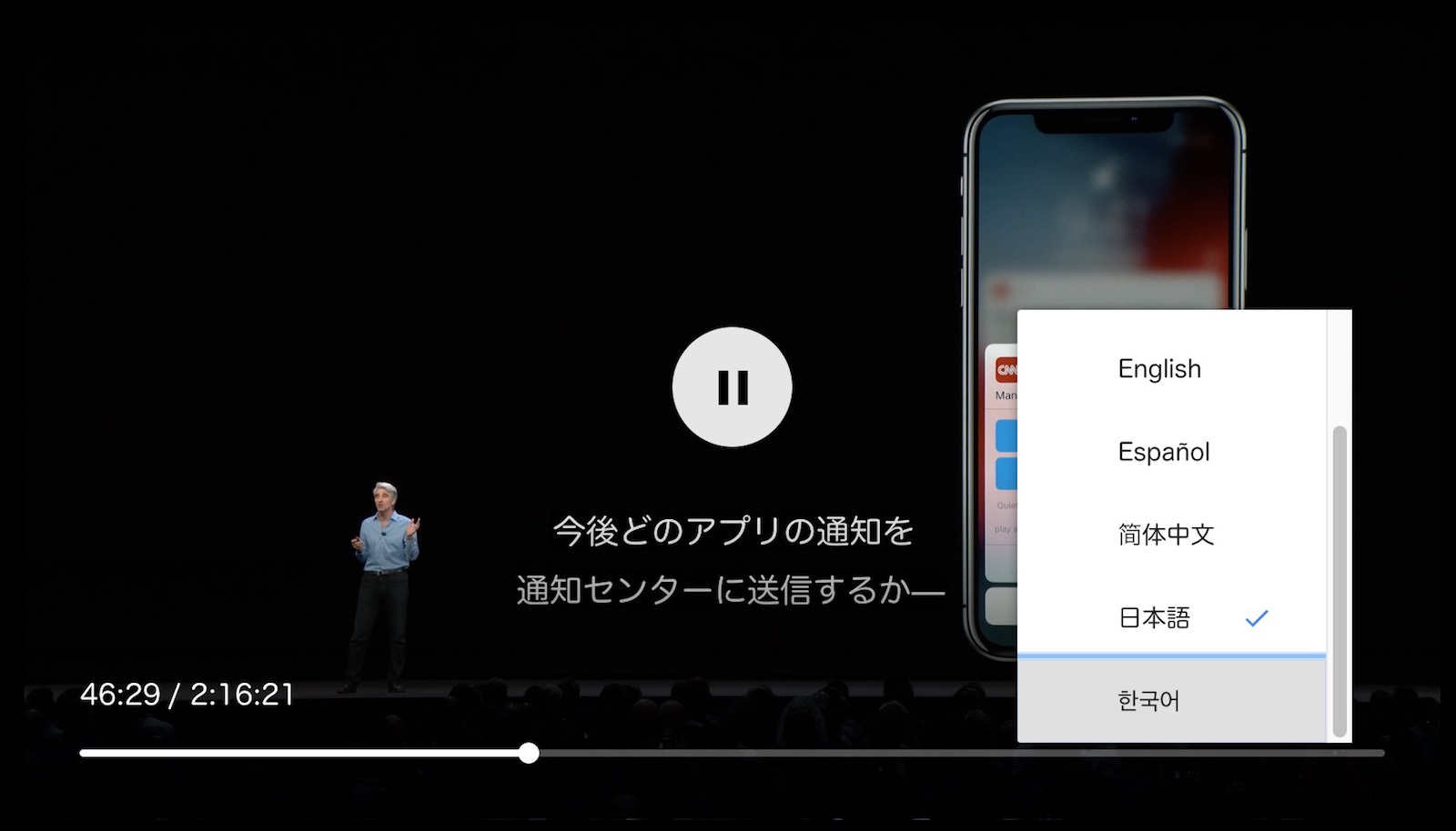 Japanese Subtitles for WWDC2018