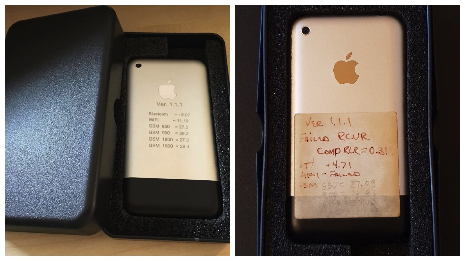 Original iPhone Prototypes on eBay
