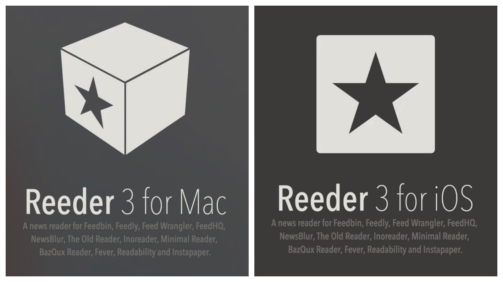 Reeder for Mac and iOS