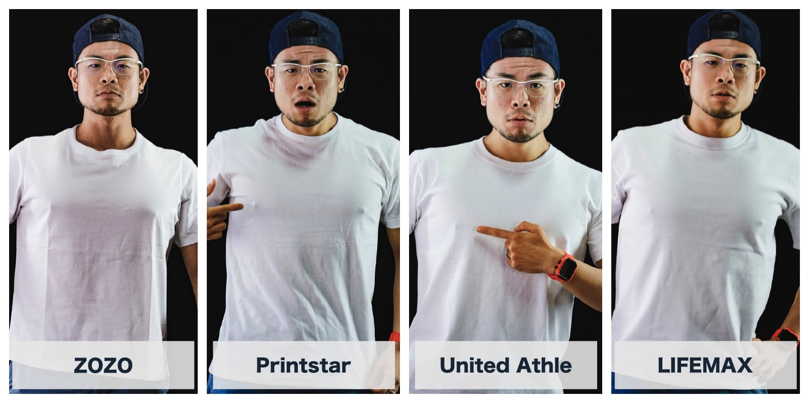 Three Types of White Tshirts Compared 3 2