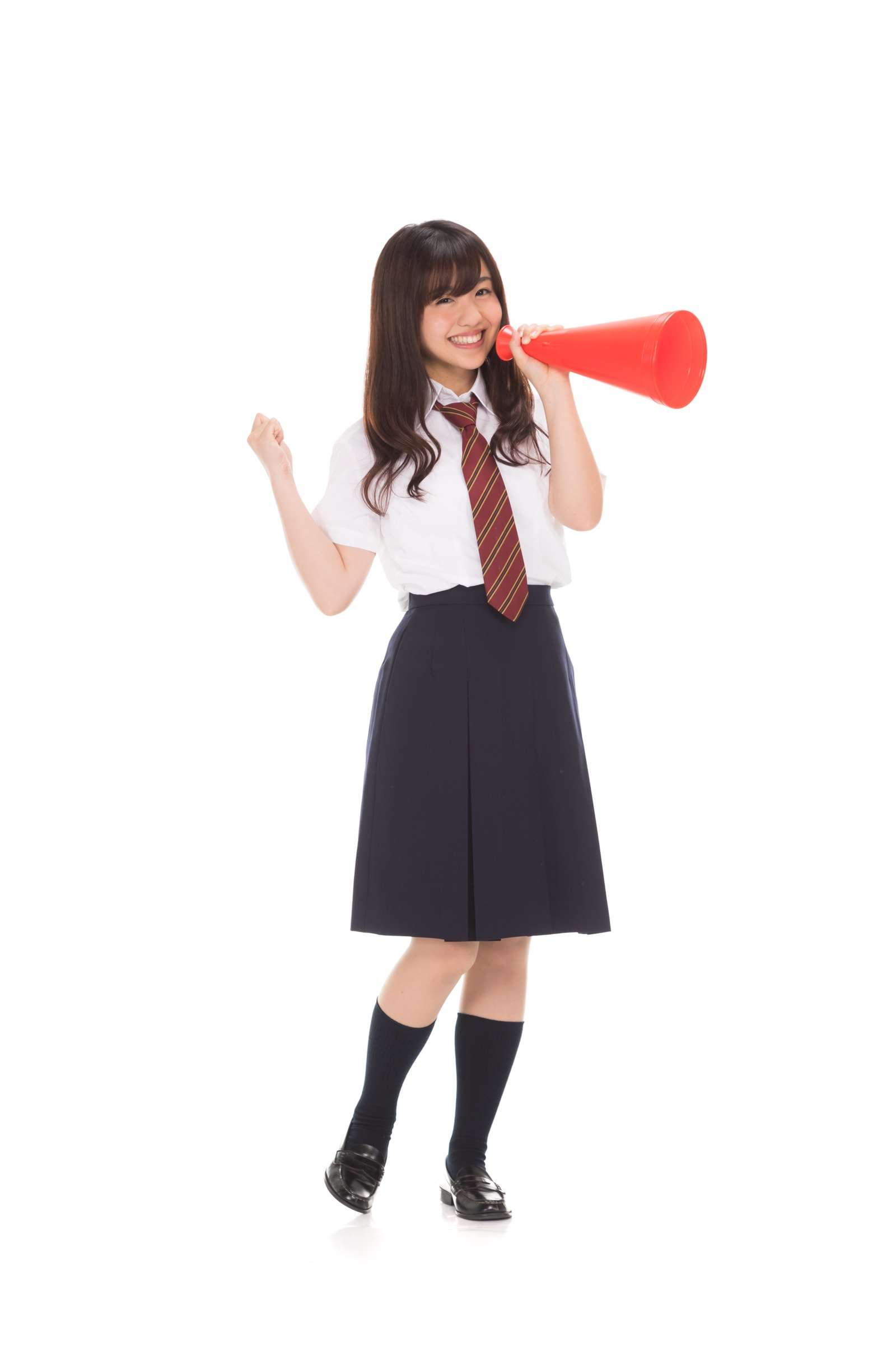 河村友歌(女子マネとチアガールのフリー素材)
