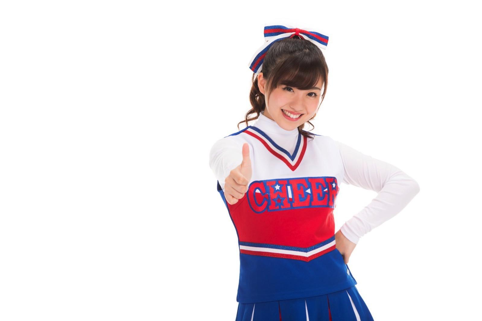 河村友歌(女子マネとチアガールのフリー素材) 44