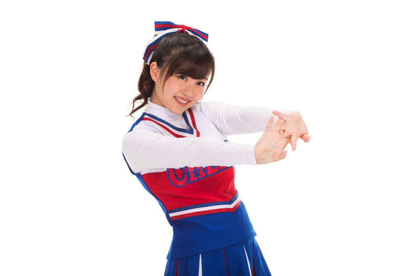 河村友歌(女子マネとチアガールのフリー素材) 45