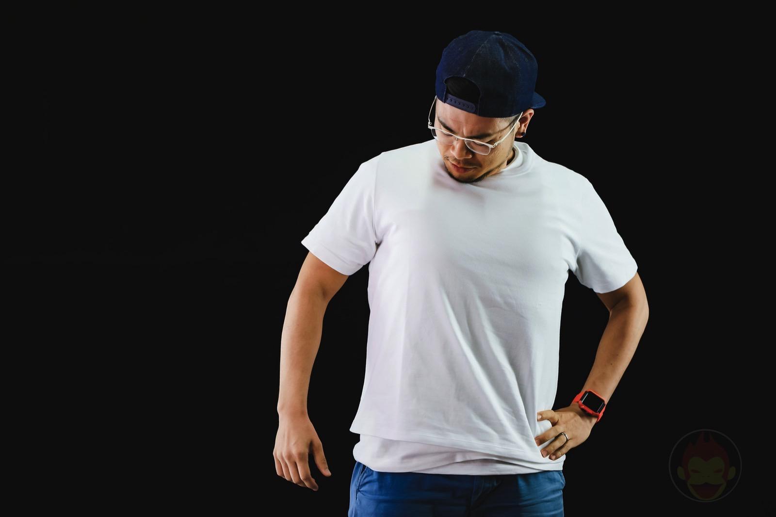 ZOZO SUITS VS Heavy Weight Tshirts VS Gori Nipples 02