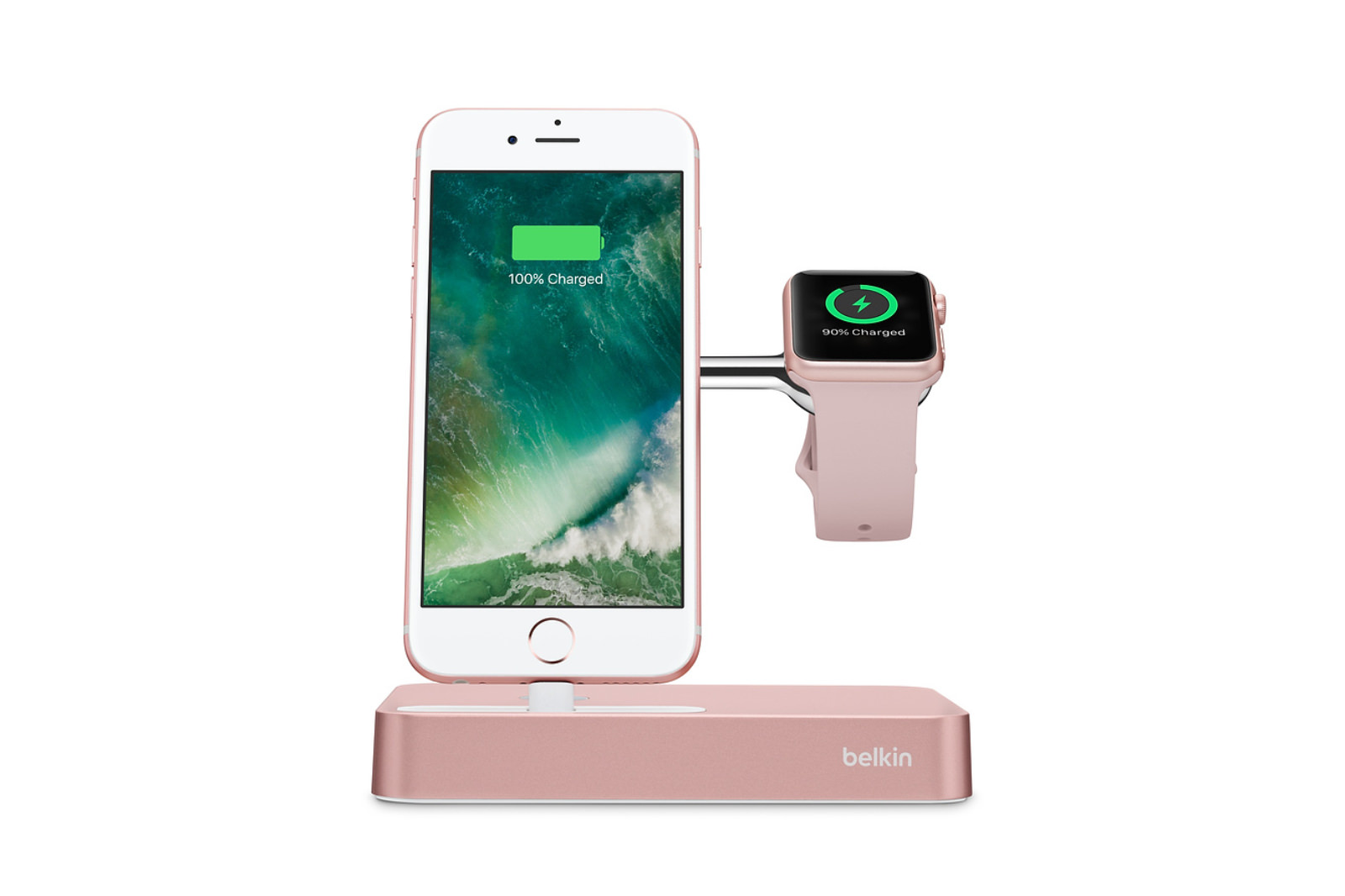 Iphone and apple watch charging stand