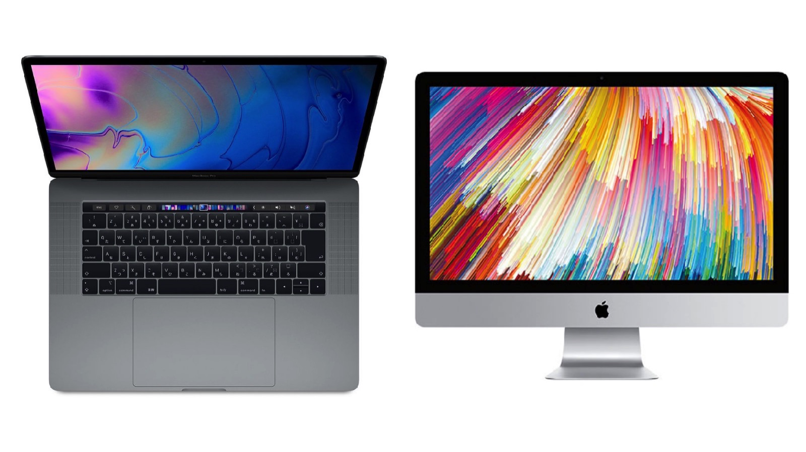 Macbook pro 2018 corei9 vs imac5k2017