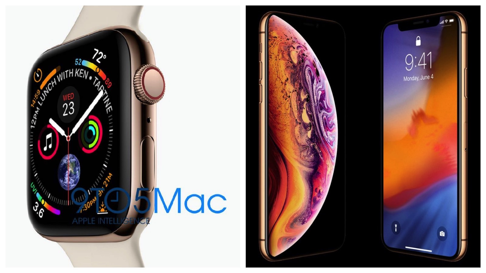 2018 iphone and applewatch