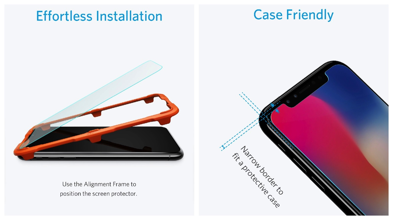 Anker GlassGuard case friendly