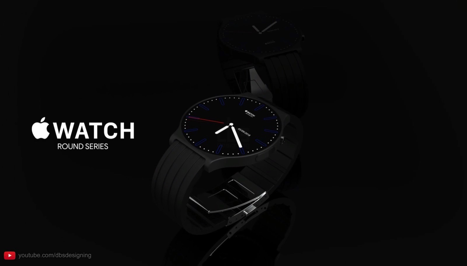 Apple Watch Round Series Concept
