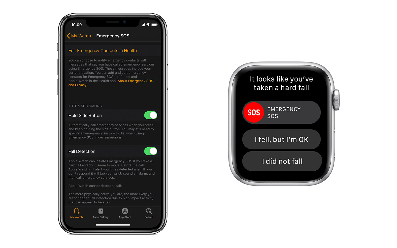 Emergency Fall AppleWatch Series4