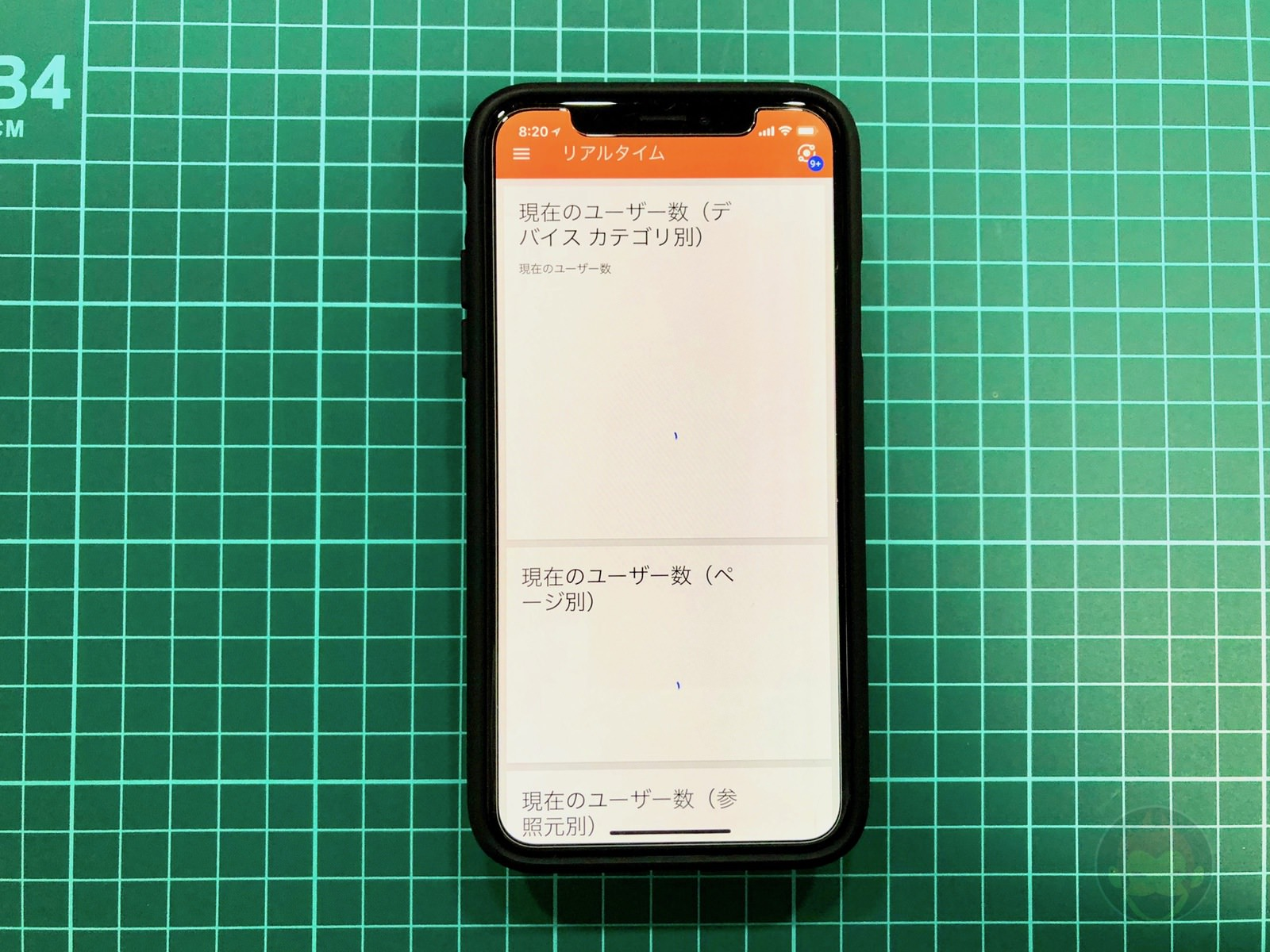 Google analytics optimized for iphonex 01