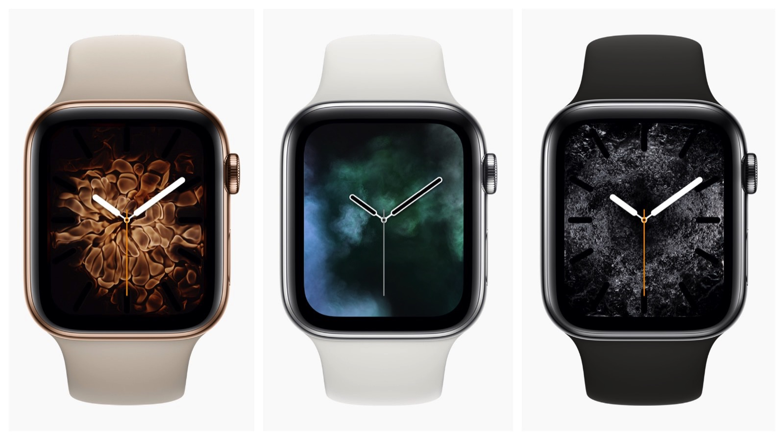 New Watch Faces for series 4