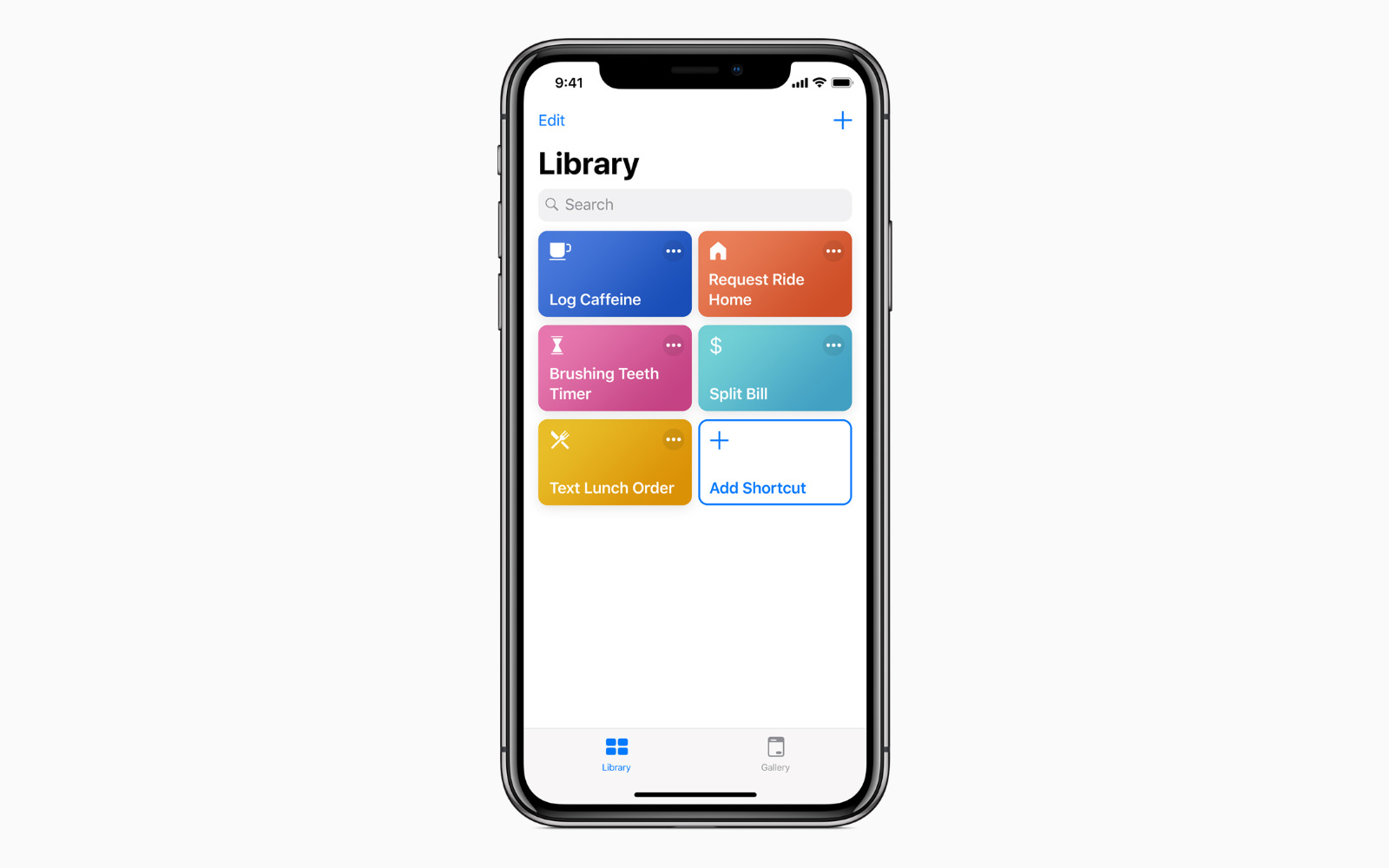 Siri Shortcuts apple official