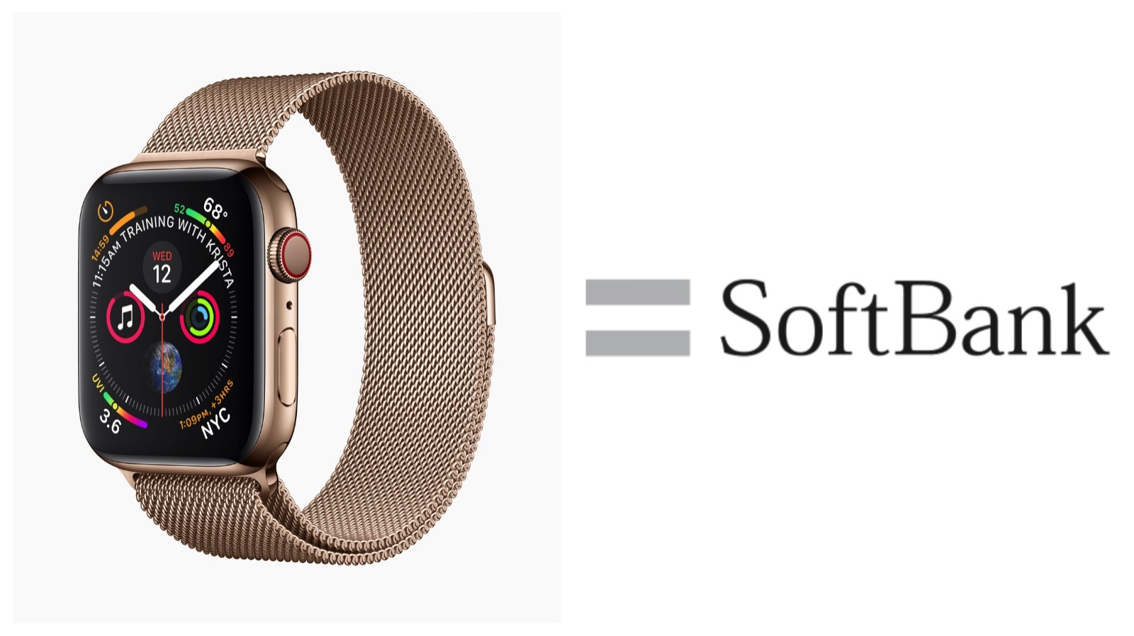 Softbank Pring for applewatchseries4