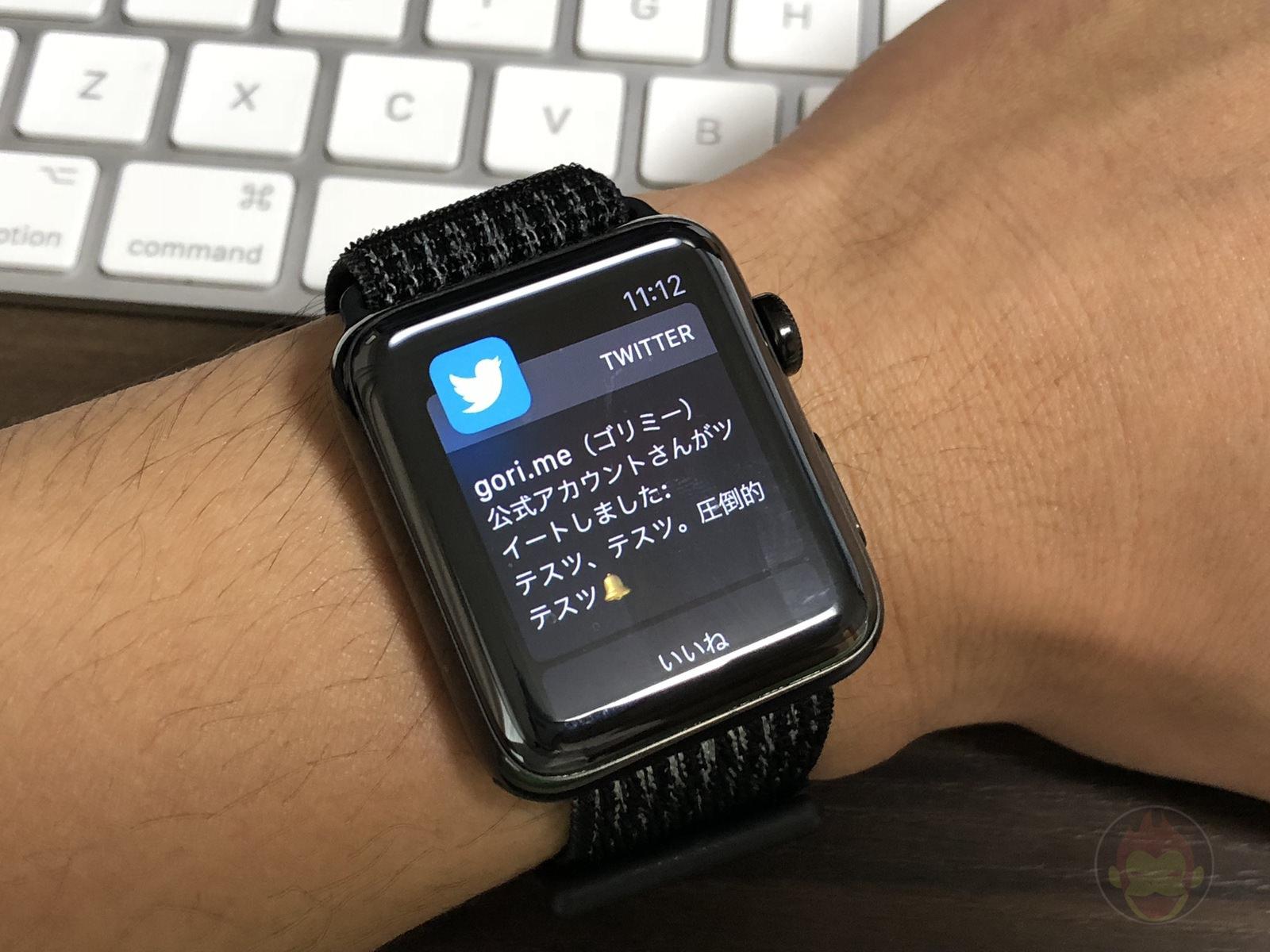 Twitter Notifications on Apple Watch 01