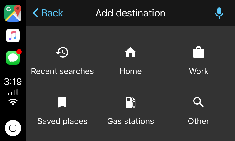 Google maps carplay 2