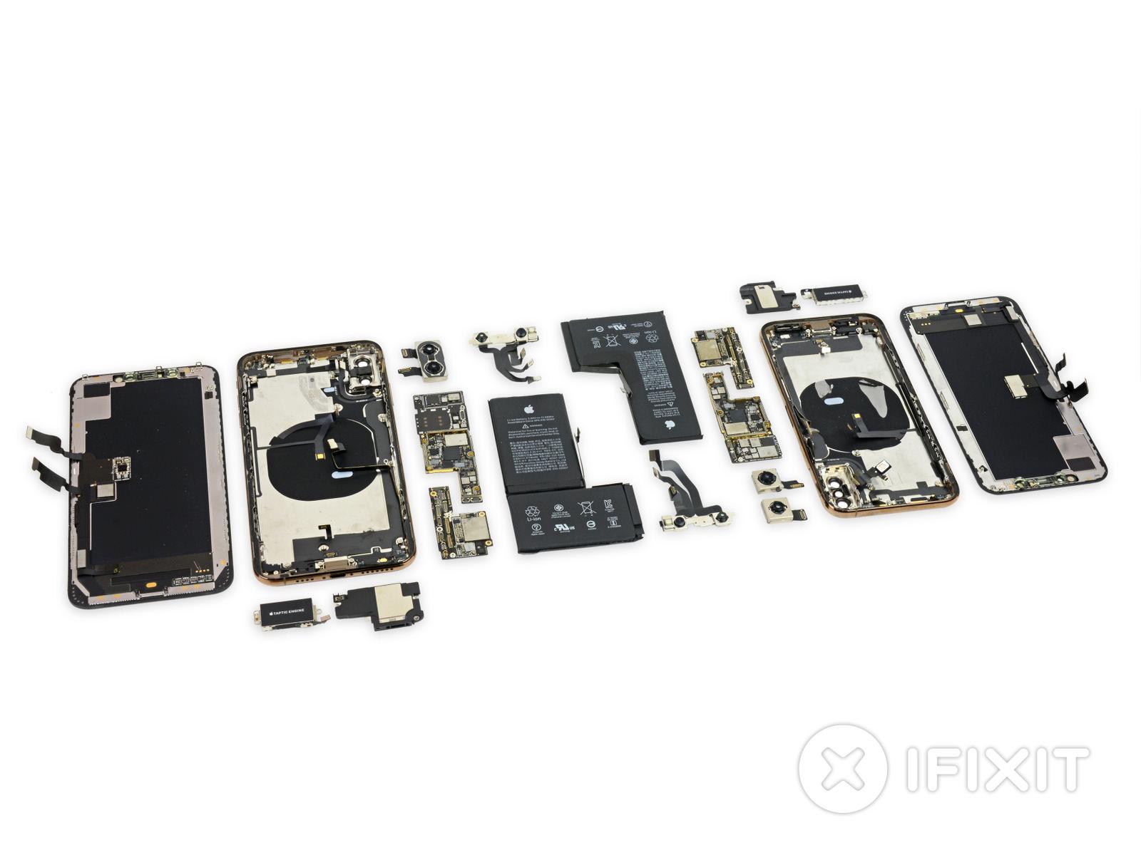 Ifixit iphonexs xsmax teardown