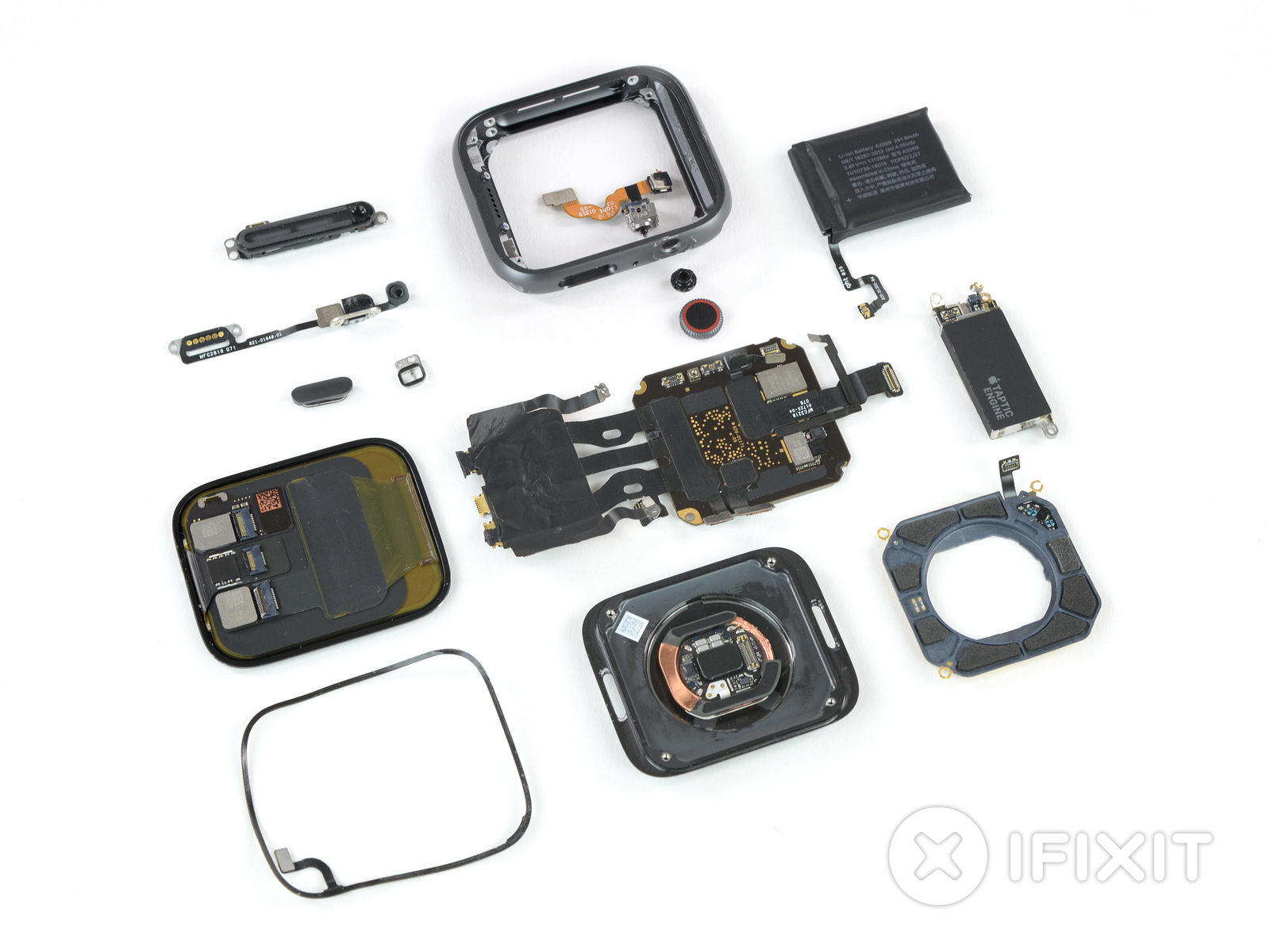 Ifixt apple watch series 4 breakdown