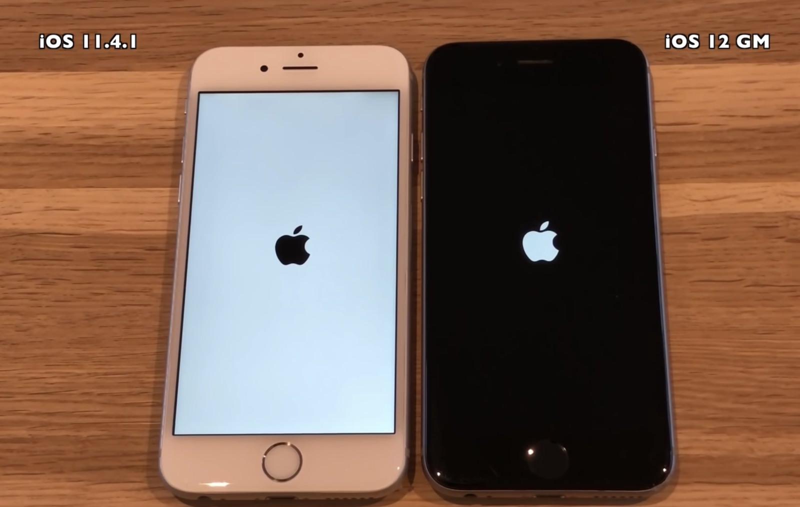 Iphone 6 ios12 vs ios11 4