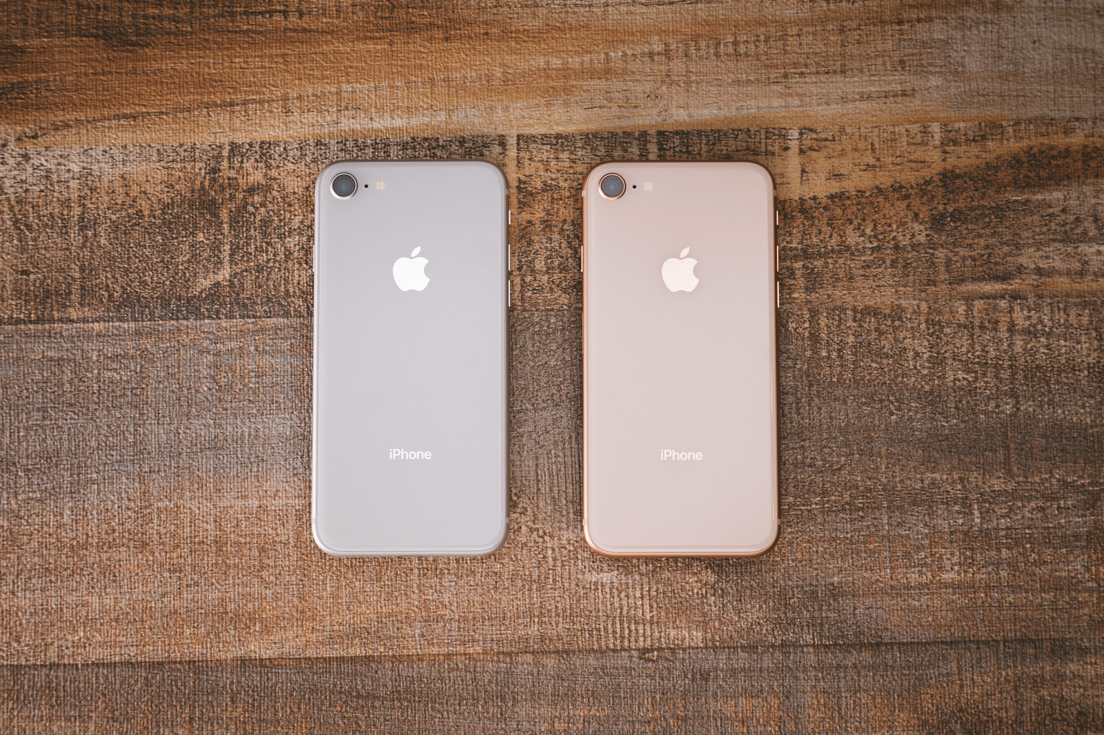iphone 8 in two colors