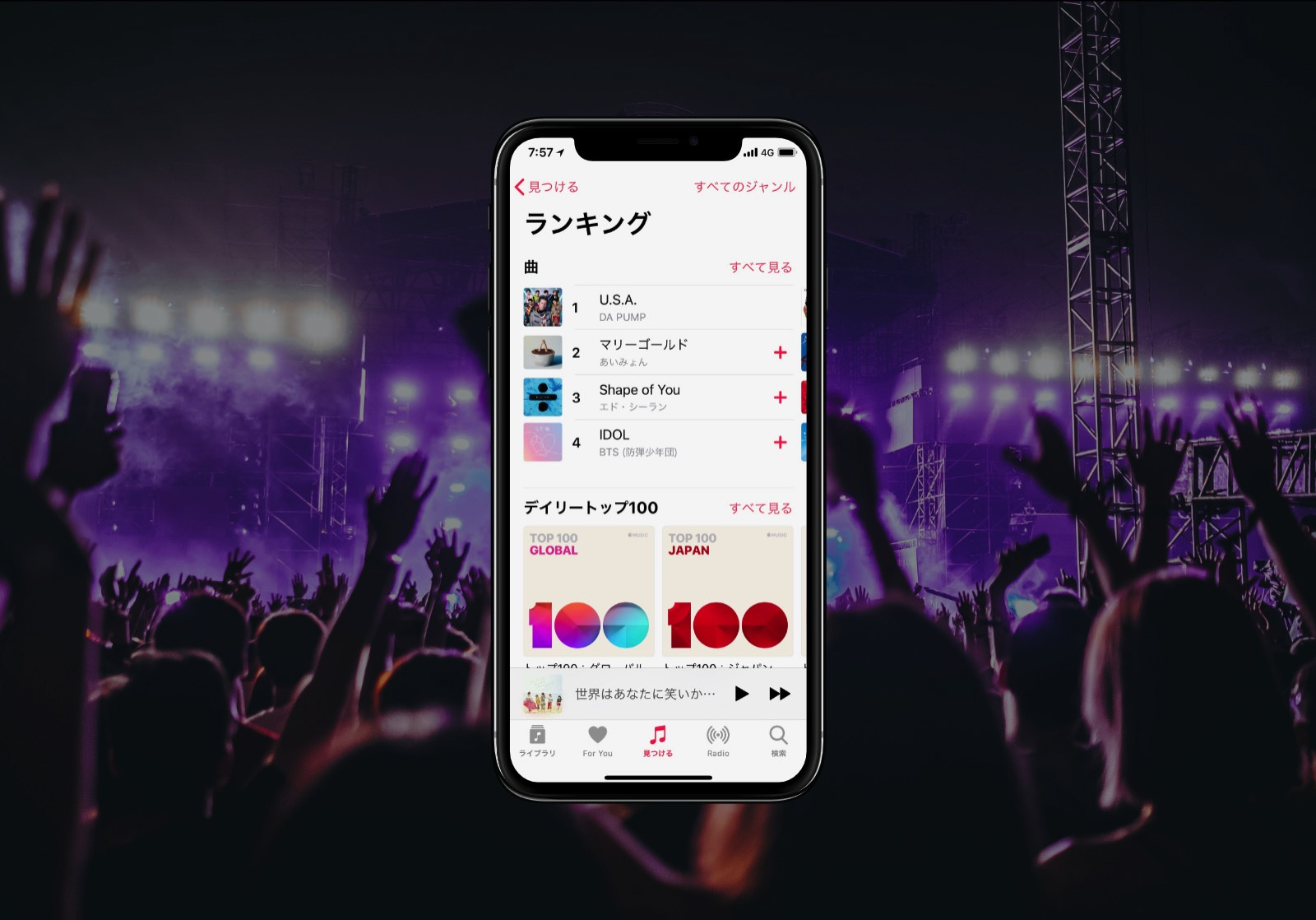 Iphone x global charts