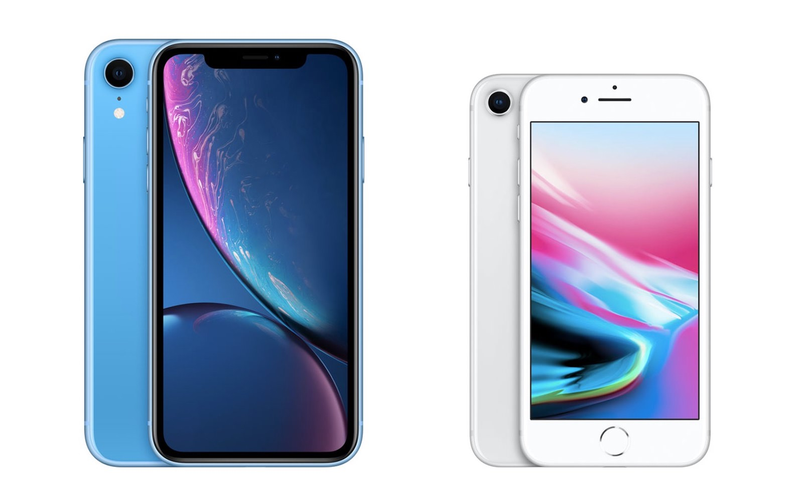 Iphone xr iphone8 comparison