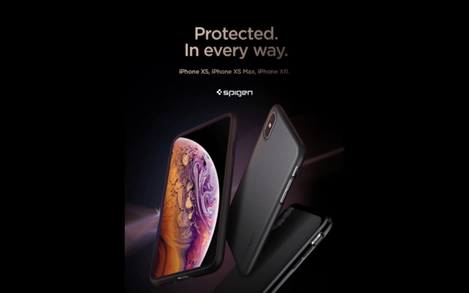 Iphone xs xs max spigen case