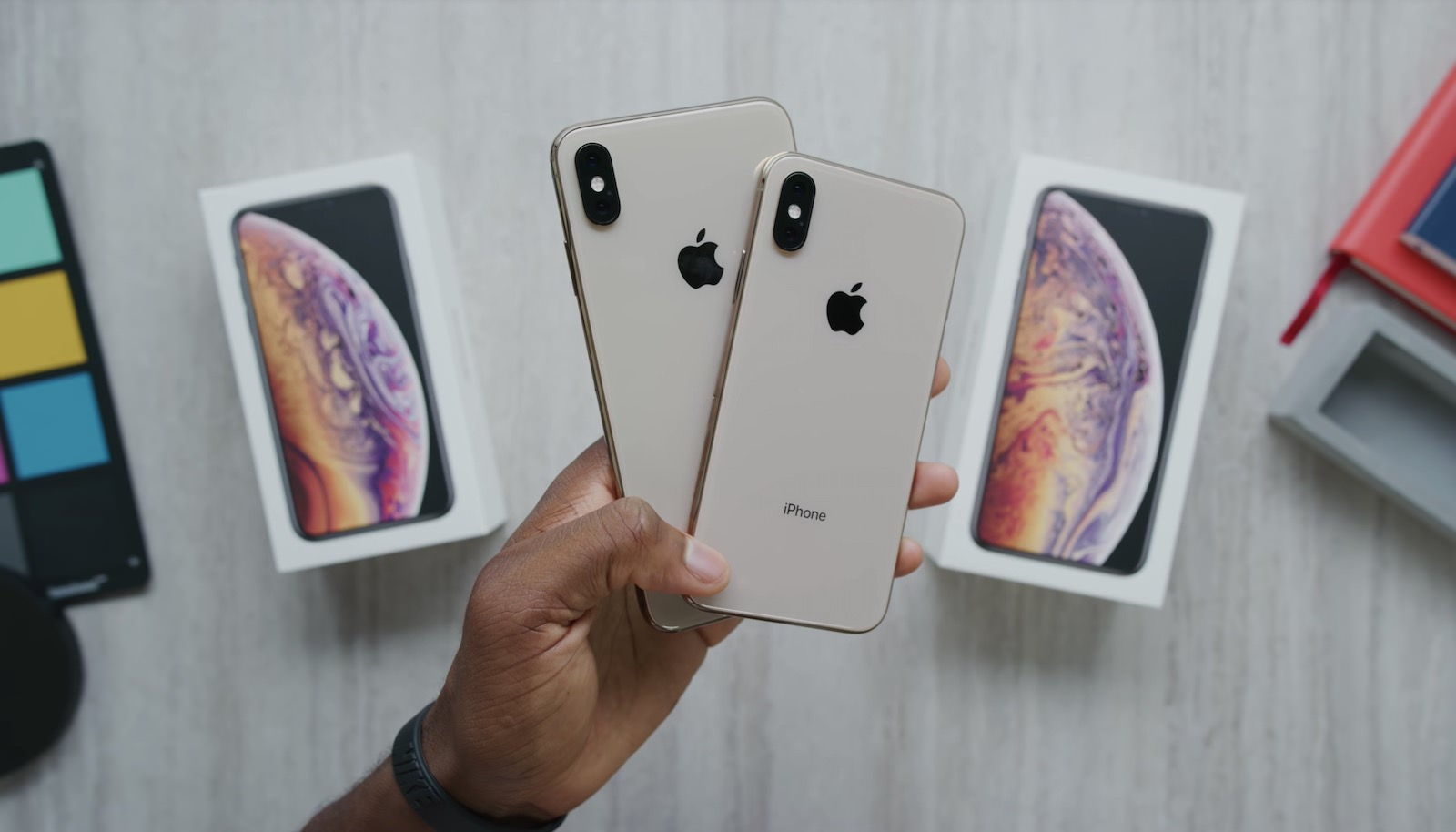 Iphone xs xsmax gold unboxing