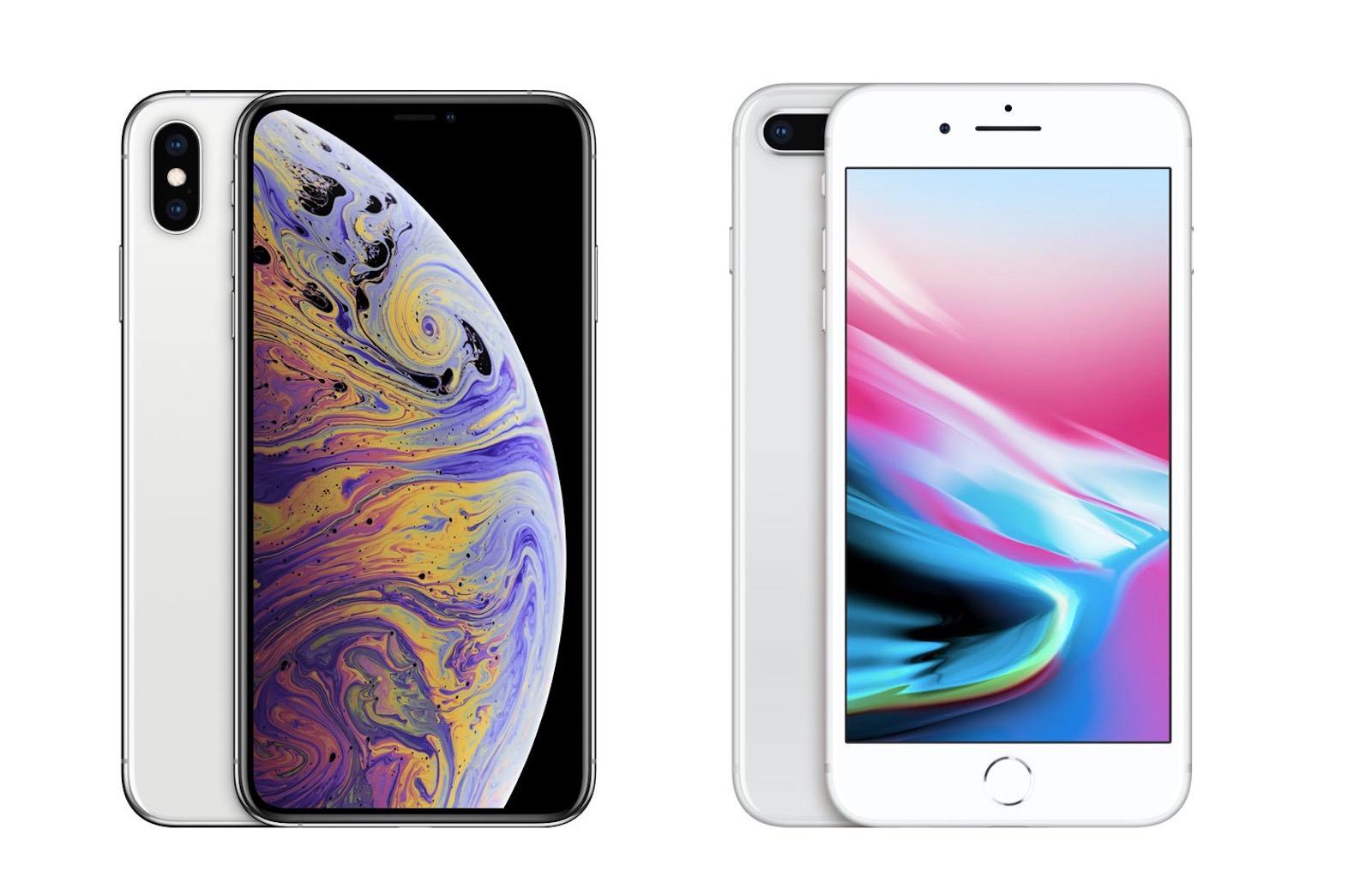 比較】「iPhone XS Max」と「iPhone 8 Plus」、どこが変わった ...